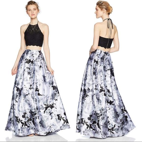 6c35a4a7cfc7 Windsor Dresses   Nwt Two Piece Formal Set Skirt Crop Prom   Poshmark